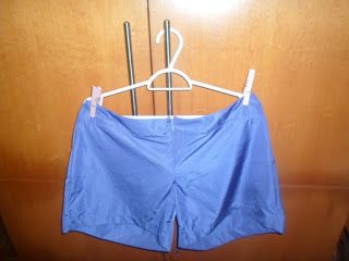 Com etiqueta: Short em seda, lilás, Maria Bonita Extra tamanho 4...