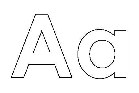 Alphabet Malvorlagen
