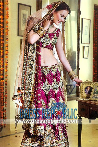 Designer wear bridal dresses in new york mermaid lehenga for Indian wedding dresses usa