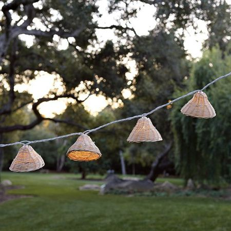 David Stark West Elm Outdoor String lights-- I need one more set, if anyone knows where I can get one please tell me!