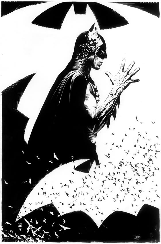Batman by Tim Bradstreet