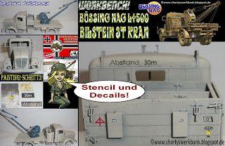 Shortys Werkbank: Workbench-AFV Club GERMAN Kfz.100- Painting!-Schri...