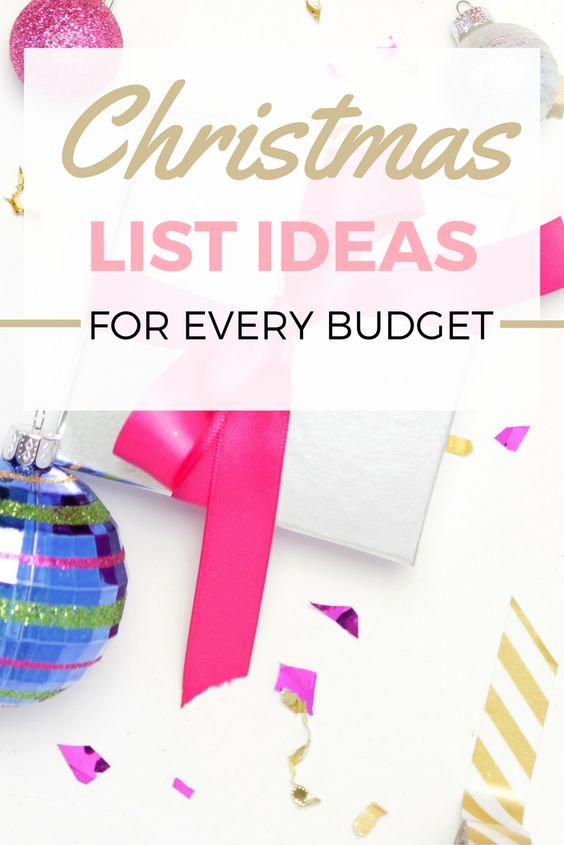 Need help finding a Christmas Gift for a female? Heres a round up of great Christmas List Ideas for you no what matter your budget is! Whether you are looking for gifts to add to your christmas wish list or trying to find gifts for someone else, this christmas list idea post will have something for you.