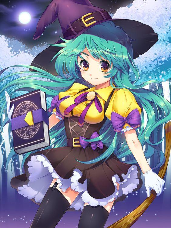 Witch by *Ellsat on deviantART