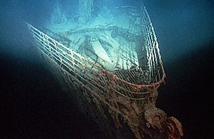 On Sept. 1, 1985, underwater explorer Robert Ballard located the world's most famous shipwreck. The Titanic lay largely intact at a depth of 12,000 ft. off the coast of St. John's, Newfoundland: Titanic Shipwreck, Shipwrecks Titanic, 100 Facts Shipwrecks, Rms Titanic, Titanic History, Shipwrecked Titanic