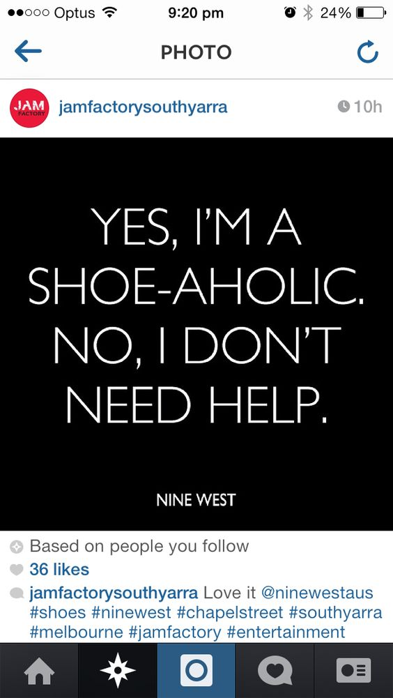 Can never have too many shoes