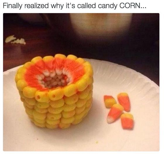 This Is Why It's Called Candy Corn