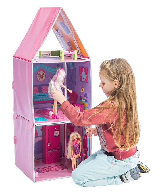 Look at this Pop-Up Convertible Doll Apartment on #zulily today!