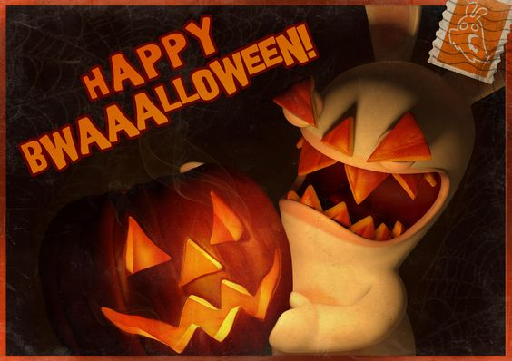 rabbids halloween | 0001 01 01t00 00 00 | Rabbids | Pinterest