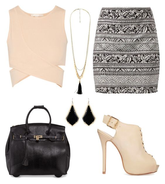 """""""Untitled #110"""" by bbn0306 ❤ liked on Polyvore featuring Jonathan Simkhai, ALDO, KC Jagger, Charlotte Russe and Kendra Scott"""