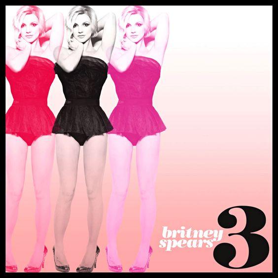 Britney Spears – 3 (single cover art)