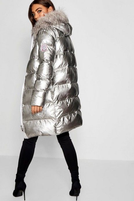 Click here to find out about the Metallic Padded Hooded Jacket from Boohoo, part of our latest Coats & Jackets collection ready to shop online today!
