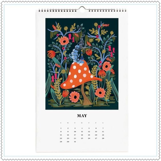 "Image of Calendrier 2016 ""Alice in Wonderland"""
