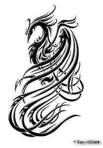 Ave fenix facebook tattoo tattoo pinterest facebook for Fenix tribal tattoo