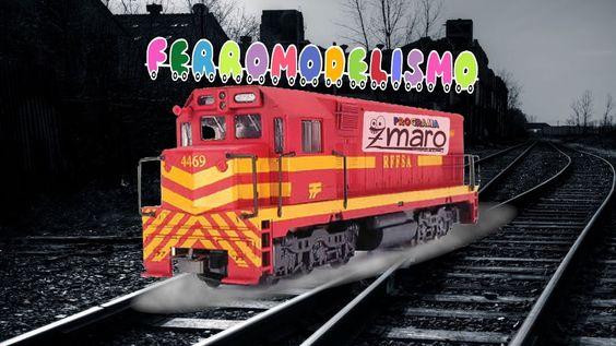 Um passeando dentro de várias maquetes de trem com Zmaro (ferromodelismo / ferreomodelismo)