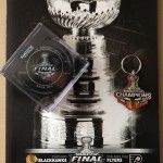 Since they were huge Blackhawks fans I bought them a program from the Stanley Cup Finals, a Keychain and a game two used hockey puck as a gift. Check out more of our videos on our website: www.drsmusic.com #ChicagoWeddingBand #WeddingMusic