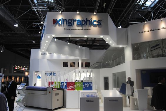 Stand Design | Xingraphics | Drupa 2012 | Düsseldorf