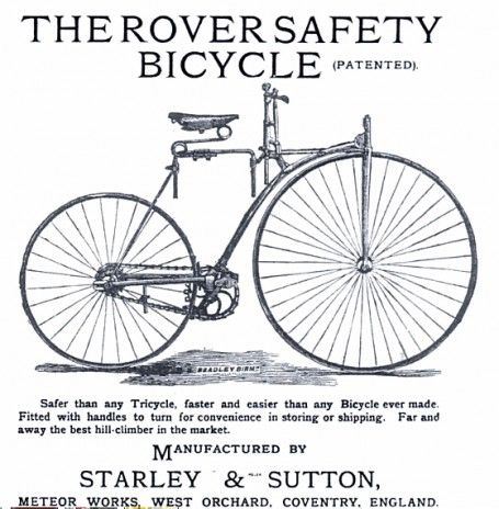 Starley Rover Safety Bicycle 1884