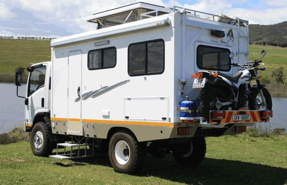 Cool 4X4 go anywhere motorhome from South Africa.