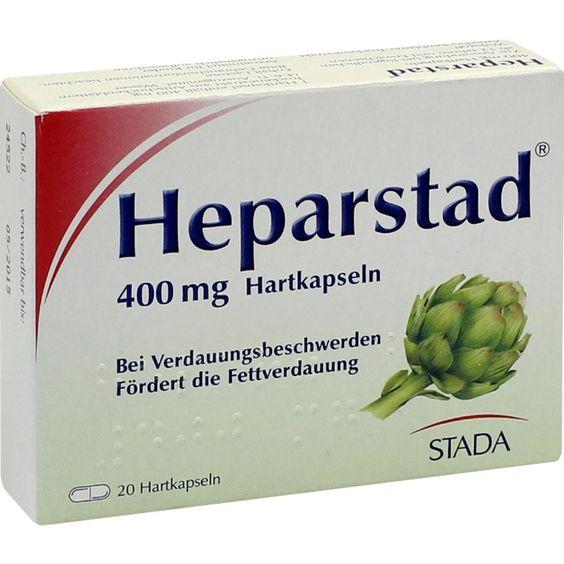 HEPARSTAD Artischocken Kapseln:   Packungsinhalt: 20 St Hartkapseln PZN: 00449237 Hersteller: STADAvita GmbH Preis: 5,01 EUR inkl. 19 %…