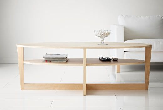 IKEA coffee tables such as VEJMON coffee table in birch veneer