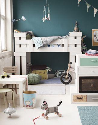 gender-neutral kids room colors