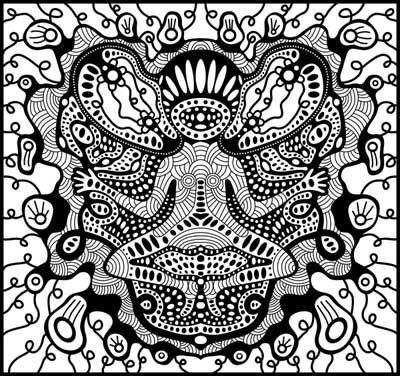 alien_monkey_meditating_by_Shurka