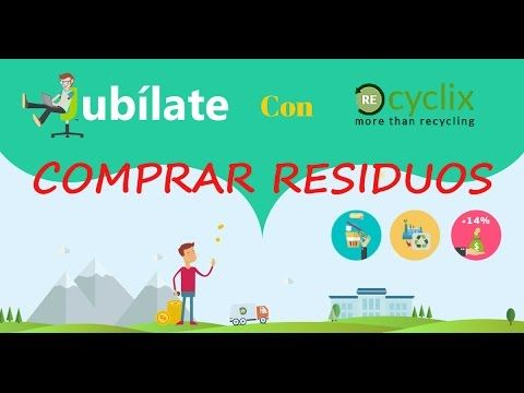 Como Comprar Residuos en RECYCLIX | FACIL Y RAPIDO