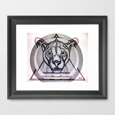 Jungla de Cemento Framed Art Print by Brave_Corona - $34.00