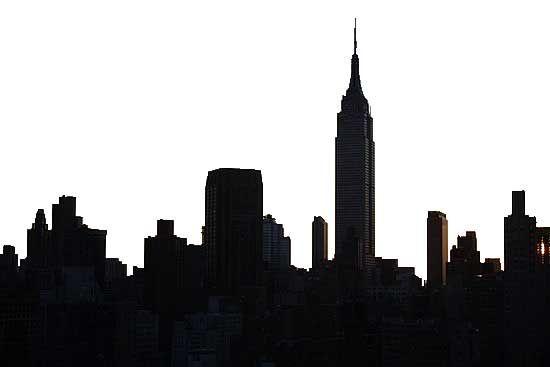 Empire State Building Skyline Silhouette | www.pixshark ...