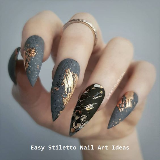 30 Great Stiletto Nail Art Design Ideas 2 With Images Classy