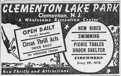 Clementon Lake Park, Clementon, NJ-  So fun to go here back in the 70's.