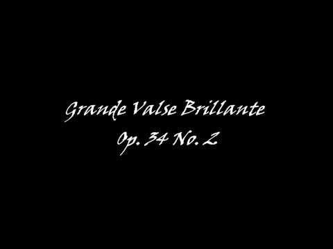 Chopin Grand Valse Brillante Op 34 No 2 In A Minor Youtube Lá Menor Valsa