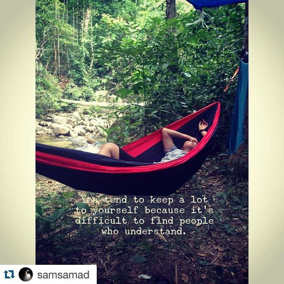 Repost @samsamad  Happy hammocking #hammock #hammock #hammocktown #hammocklife #hammockcamping #hammockmalaysia #hammockersmalaysia by @hammockers_malaysia