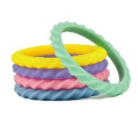 Twister Bangles - Soft, flexible, non toxic jewellery for kids... or Mums with smaller hands and wrists!