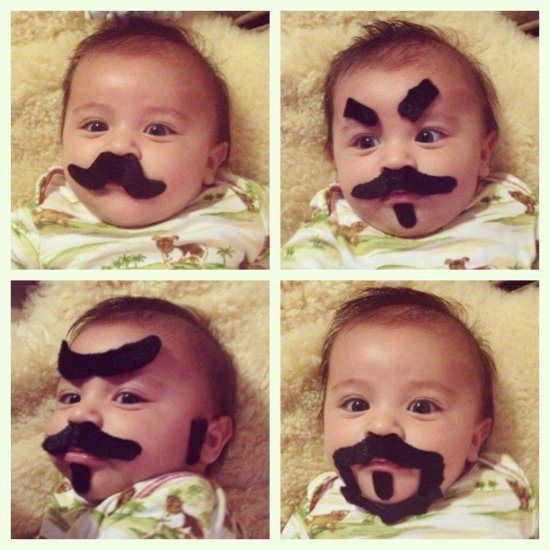 Here are 15 drawn on baby eyebrows that will brighten up your day.