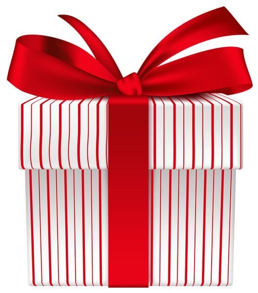Pin By Tis The Season On Pinspiration Gift Ribbon Red White Christmas Image Gifts