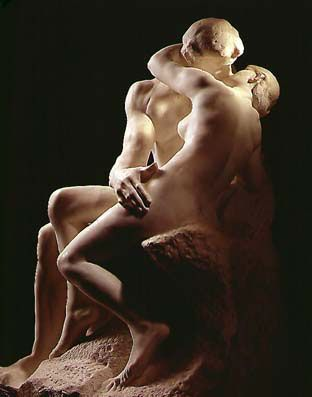 Rodin's The Kiss, at Musee Rodin, one of my favorite places.