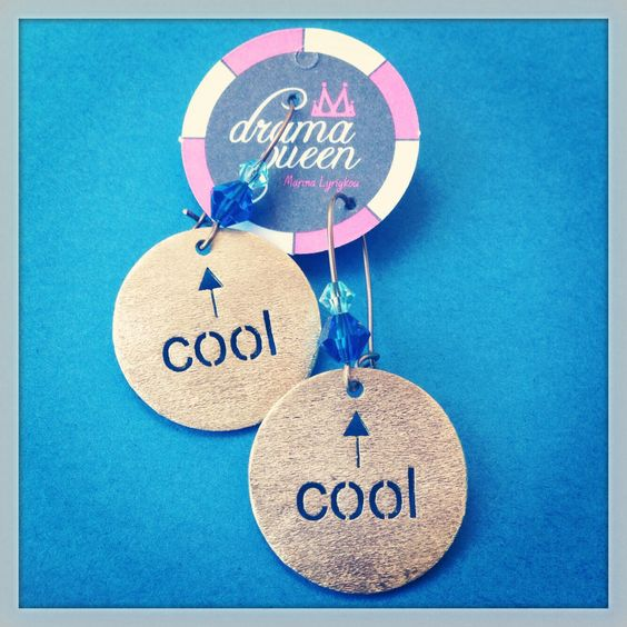 Think you are cool??? Prove it........ Drama Queen earrings