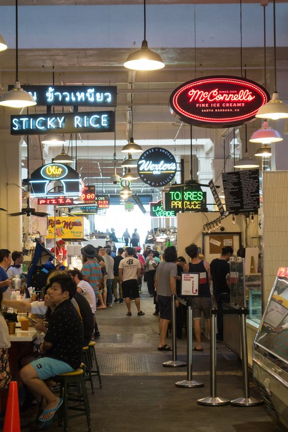 Gaby's Guide to Downtown Los Angeles / Grand Central Market