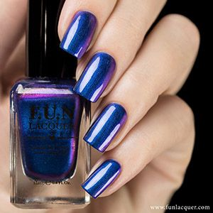 F.U.N. Lacquer- Christmas 2015- Frost
