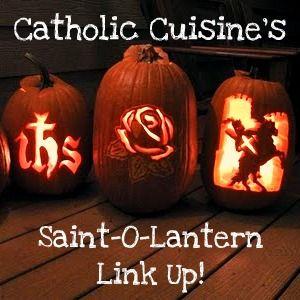 Catholic Cuisine: The 2012 Saint-O-Lantern Link Up!