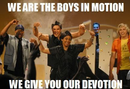 I miss Thats so Raven, Cant believe I forgot about the boys in motion :)