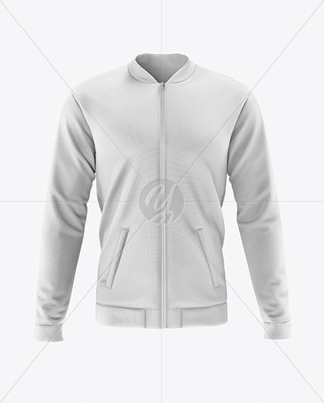 Download Men S Bomber Jacket Mockup Front View In Apparel Mockups On Yellow Images Object Mockups Clothing Mockup Bomber Jacket Men Mens Bomber