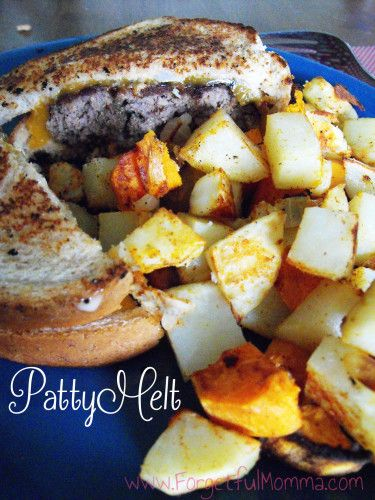 Patty melts, Classic and Patty melt recipe on Pinterest