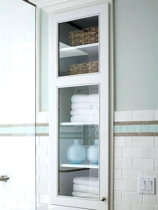 Recessed Storage, Recessed Bathroom Shelving