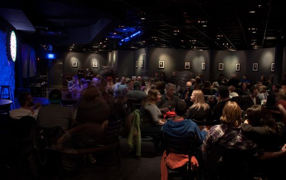 Mid size theater & comedy club Yuk Yuk's Vancouver | #filmmaker #comedian #eventplanner