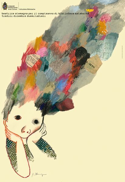 Beatrice Alemagna illustration: