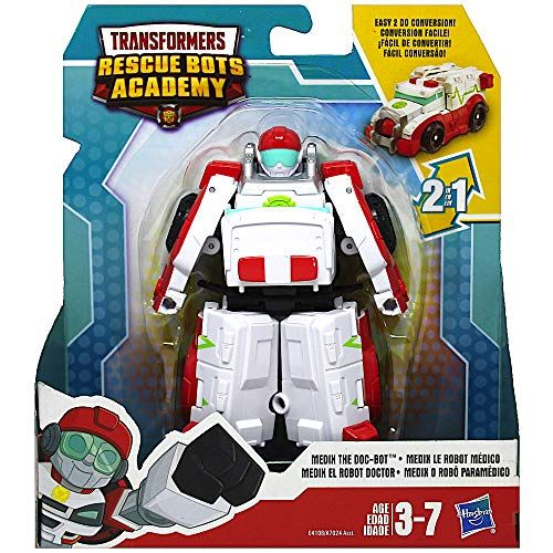 Playskool Heroes Transformateurs Rescue Bots Academy Medix le doc Bot Figure