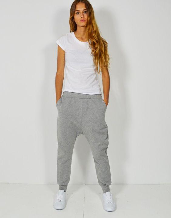 pantalones grises cagados talla38